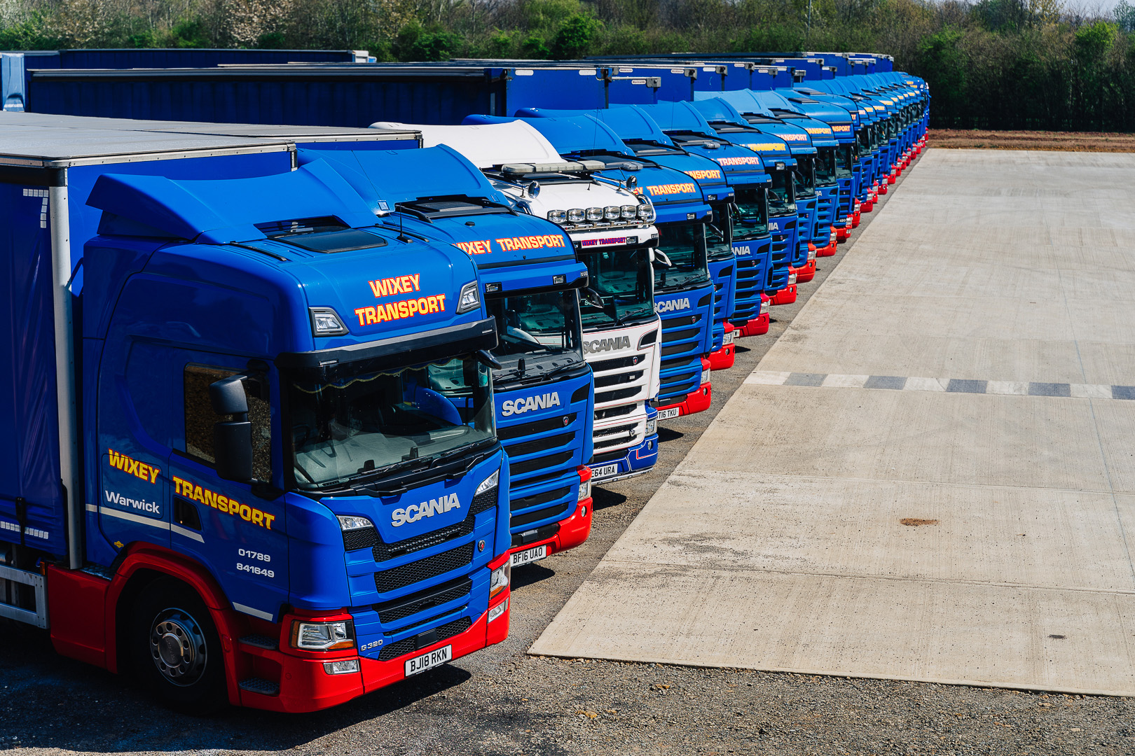 Lorry Line Up